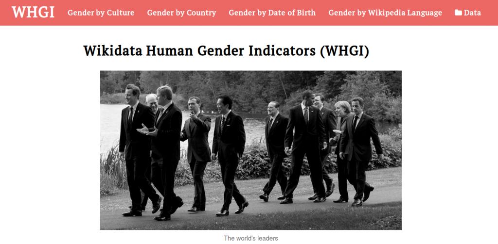 Homepage of WHGI